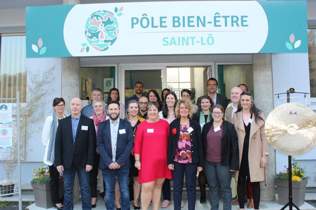 L'équipe du Pôle Bien Être | Avril 2019